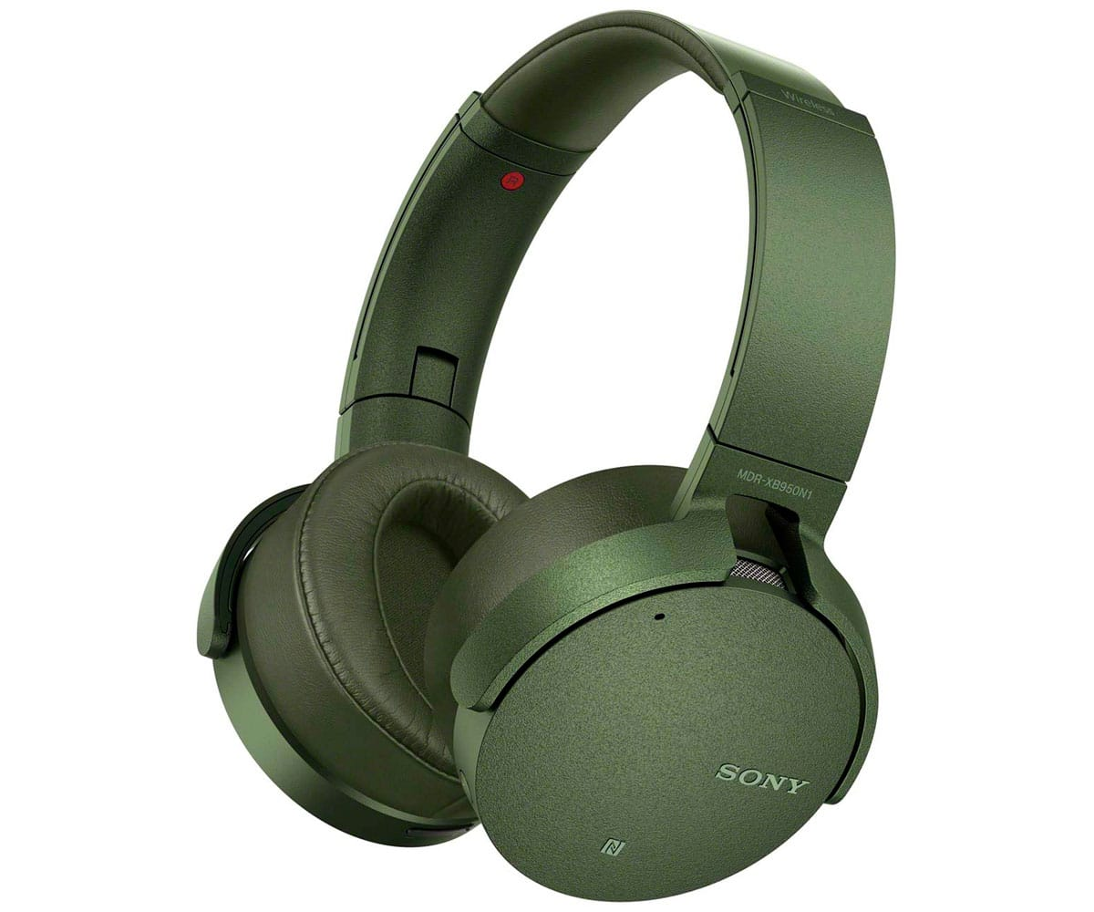 SONY MDRXB950N1G VERDE AURICULARES INALÁMBRICOS EXTRA BASS BLUETOOTH