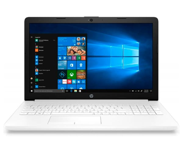 HP 15-DB0020 PORTÁTIL BLANCO 15.6'' LCD WLED HD READY/A9 3.1GHz/SSD 256GB/12GB RAM/W10 HOME