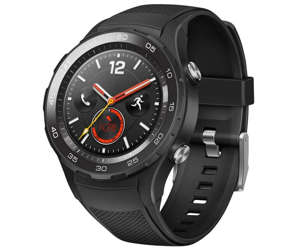 HUAWEI WATCH 2 4G NEGRO RELOJ SMARTWATCH PANTALLA AMOLED GPS BLUETOOTH NFC