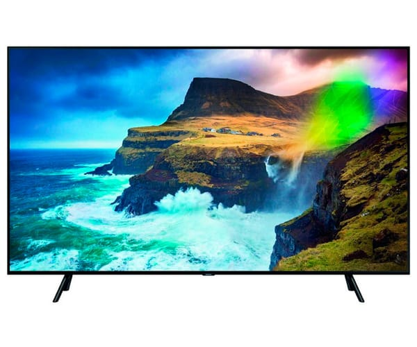 SAMSUNG QE75Q70RATXXC TELEVISOR 75'' QLED 4K 2019 DIRECT FULL ARRAY SMART TV WIFI BLUETOOTH AMBIENT MODE