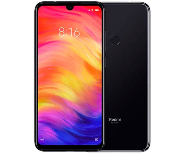 XIAOMI REDMI NOTE 7 NEGRO MÓVIL 4G DUAL SIM 6.3'' IPS FHD+/8CORE/64GB/4GB RAM/48MP+5MP/13MP