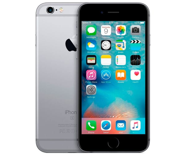 APPLE IPHONE 6S 32GB PLATA REACONDICIONADO CPO MÓVIL 4G 4.7'' RETINA HD/2CORE/32GB/2GB RAM/12MP/5MP