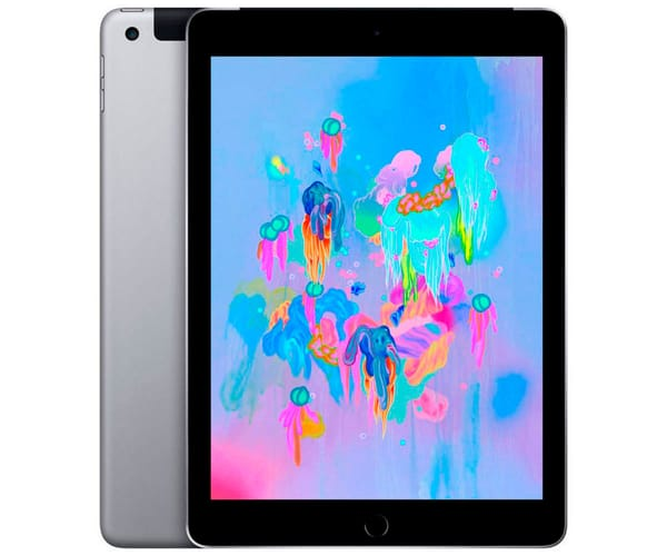 APPLE IPAD GRIS ESPACIAL TABLET WIFI 4G 10.2'' RETINA/128GB/3GB RAM/8MP/1.2MP