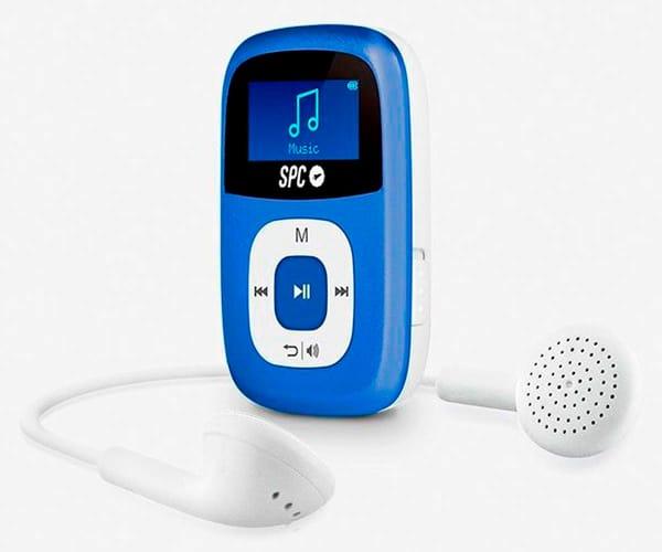 SPC 8644A AZUL REPRODUCTOR MP3 SPARROW 4GB RADIO FM Y GRABADOR DE VOZ