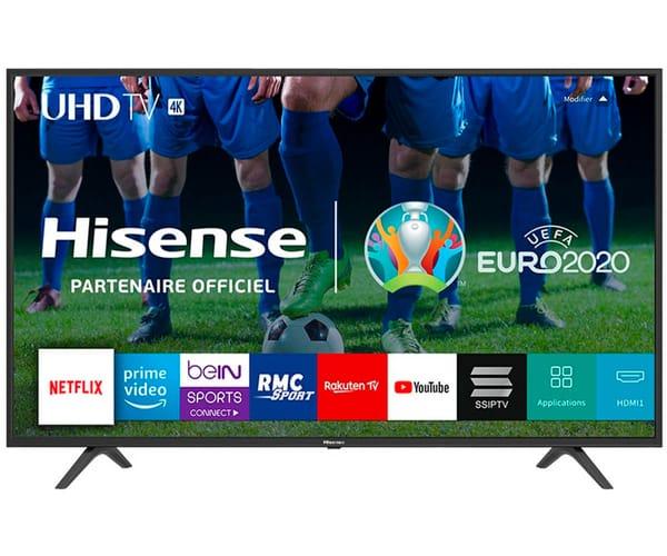HISENSE H65B7100 TELEVISOR 65'' LCD DIRECT LED UHD 4K 1500Hz SMART TV WIFI CI+ HDMI USB REPRODUCTOR MULTIMEDIA