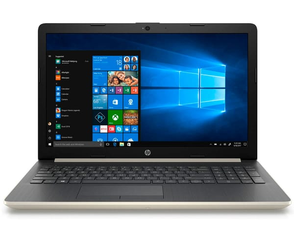 HP 15-DA0064 PORTÁTIL ORO PLATEADO 15.6'' LCD WLED HD READY/i5 3.4GHz/1TB/12GB RAM/GF MX110 2GB/W10