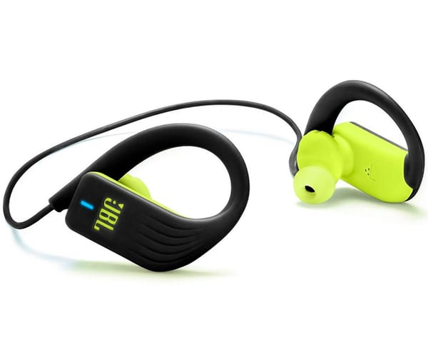 JBL ENDURANCE SPRINT NEGRO/AMARILLO AURICULARES DEPORTIVOS IN-EAR INALÁMBRICOS IMPERMEABLES BLUETOOTH