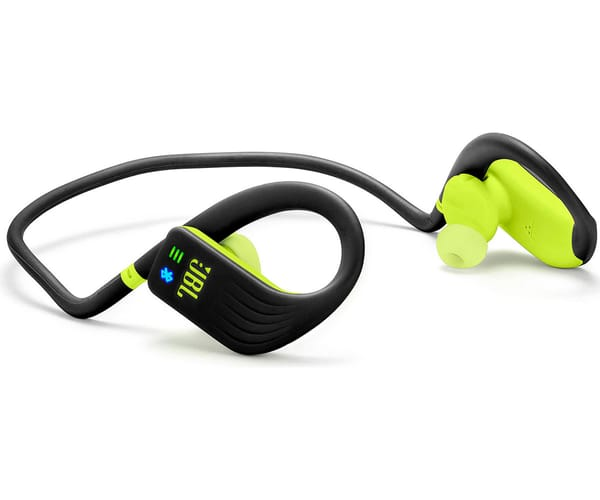 JBL ENDURANCE DIVE NEGRO/AMARILLO AURICULARES DEPORTIVOS IN-EAR MP3 INALÁMBRICOS IMPERMEABLES BLUETOOTH