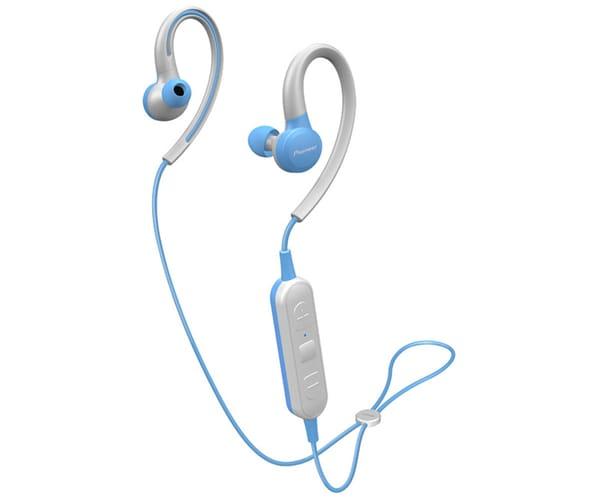 PIONEER SE-E6BT AZUL AURICULARES DEPORTIVOS IN-EAR INALÁMBRICOS E6 WIRELESS IPX4 MANOS LIBRES