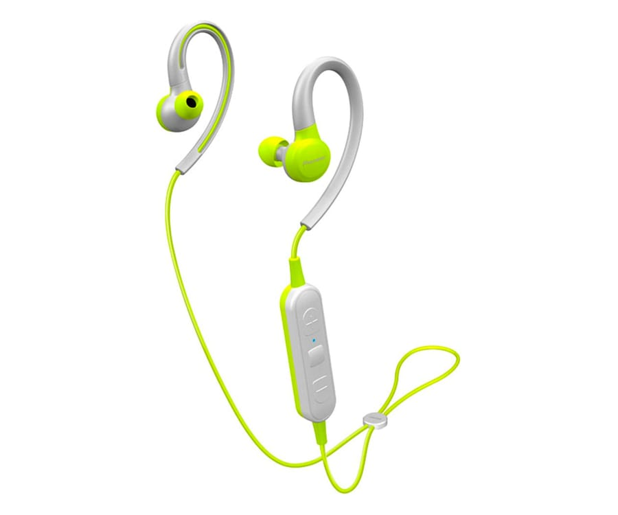 PIONEER SE-E6BT AMARILLO AURICULARES DEPORTIVOS IN-EAR INALÁMBRICOS E6 WIRELESS IPX4 MANOS LIBRES