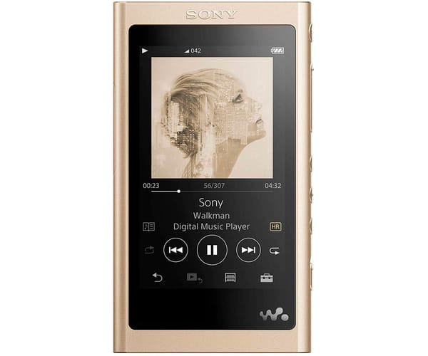 SONY NW-A55L BEIGE WALKMAN 16GB TÁCTIL 3.1'' REPRODUCTOR HI RES NFC BLUETOOTH