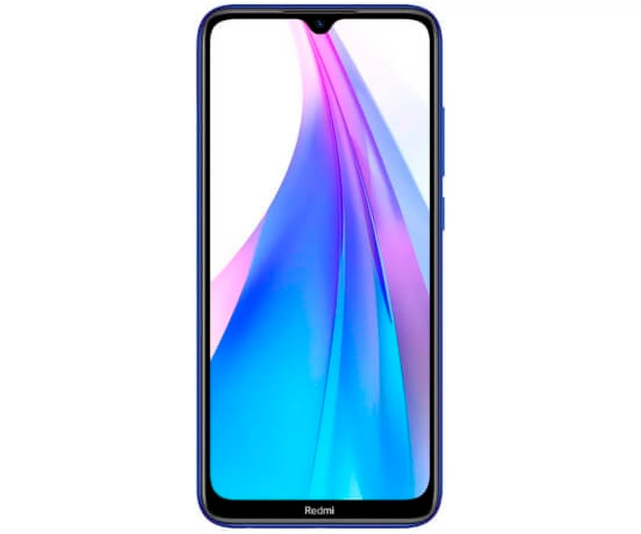 XIAOMI REDMI NOTE 8T AZUL MÓVIL 4G DUAL SIM 6.3'' FHD+ OCTACORE 64GB 4GB RAM QUADCAM 48MP SELFIES 13MP