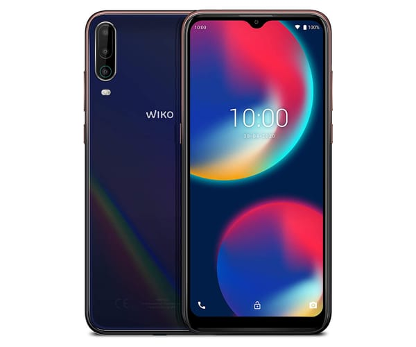 WIKO VIEW4 COSMIC BLUE MÓVIL 4G DUAL SIM 6.52'' IPS HD+/8CORE/64GB/3GB RAM/13+2+5MP/8MP