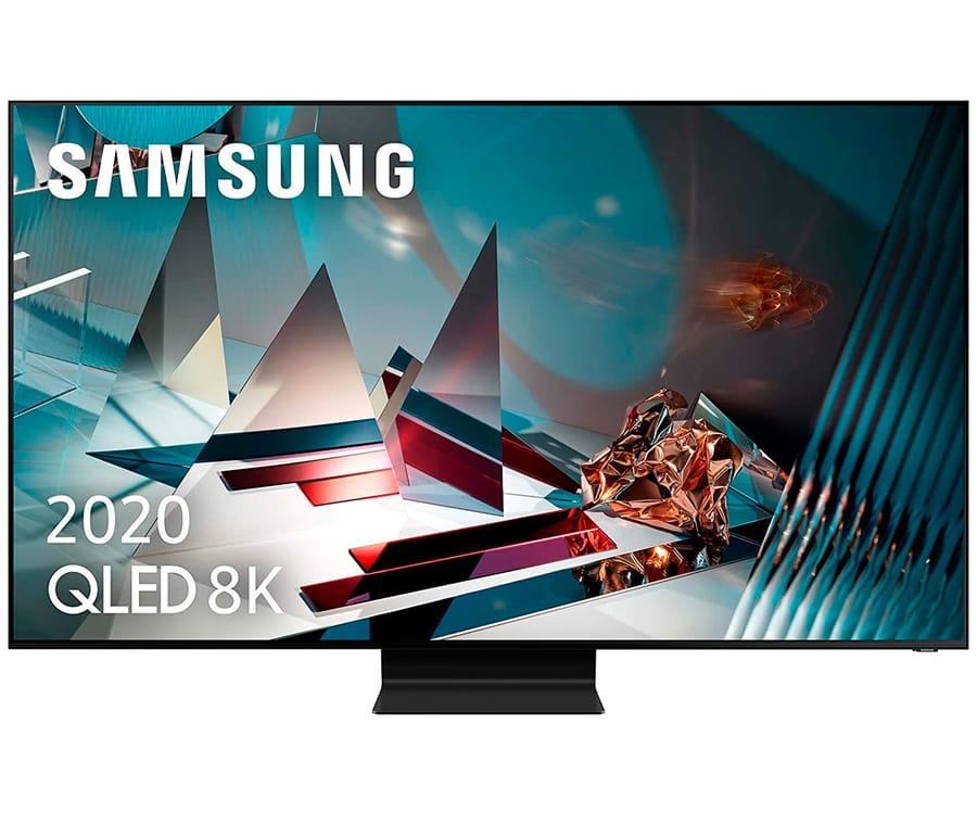 SAMSUNG QE65Q800T 2020 TELEVISOR 65'' QLED 8K QUANTUM HDR 2000 SMART TV 4500Hz PQI
