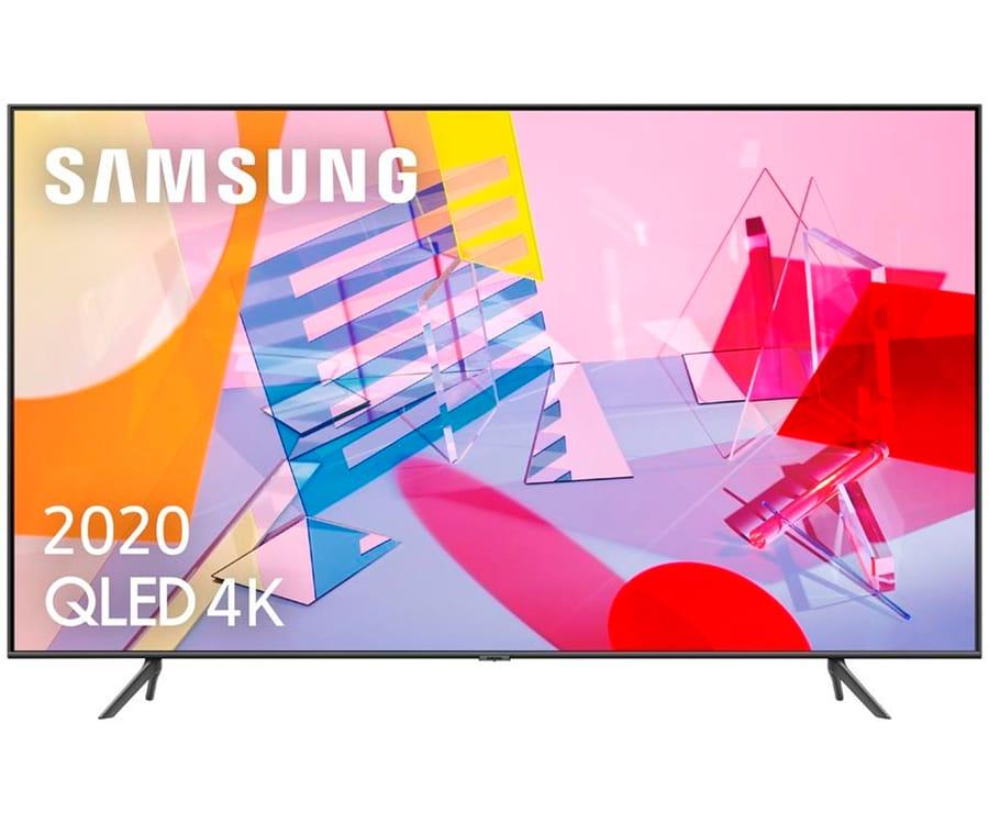 SAMSUNG QE55Q60T 2020 TELEVISOR 55'' QLED 4K QUANTUM HDR SMART TV 3100Hz PQI