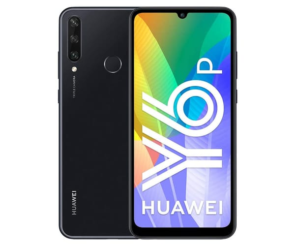 HUAWEI Y6P BLACK MÓVIL 4G DUAL SIM 6.3'' IPS HD+/8CORE/64GB/3GB RAM/13+5+2MP/8MP