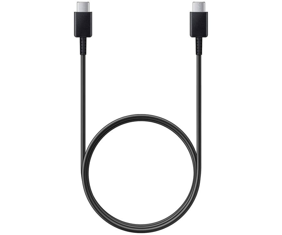 SAMSUNG EP-DA705BBEGWW NEGRO CABLE CONEXIÓN USB TIPO C A TIPO C 1 METRO