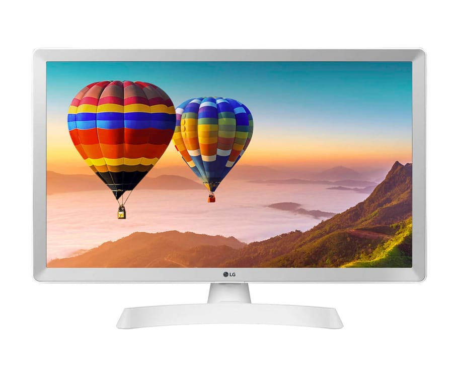 LG 24TN510S-WZ NEGROTELEVISOR MONITOR 24'' LCD LED HD SMART TV HDMI USB 14ms LAN WIFI COMPONENTES COMPUESTA ÓPTICA