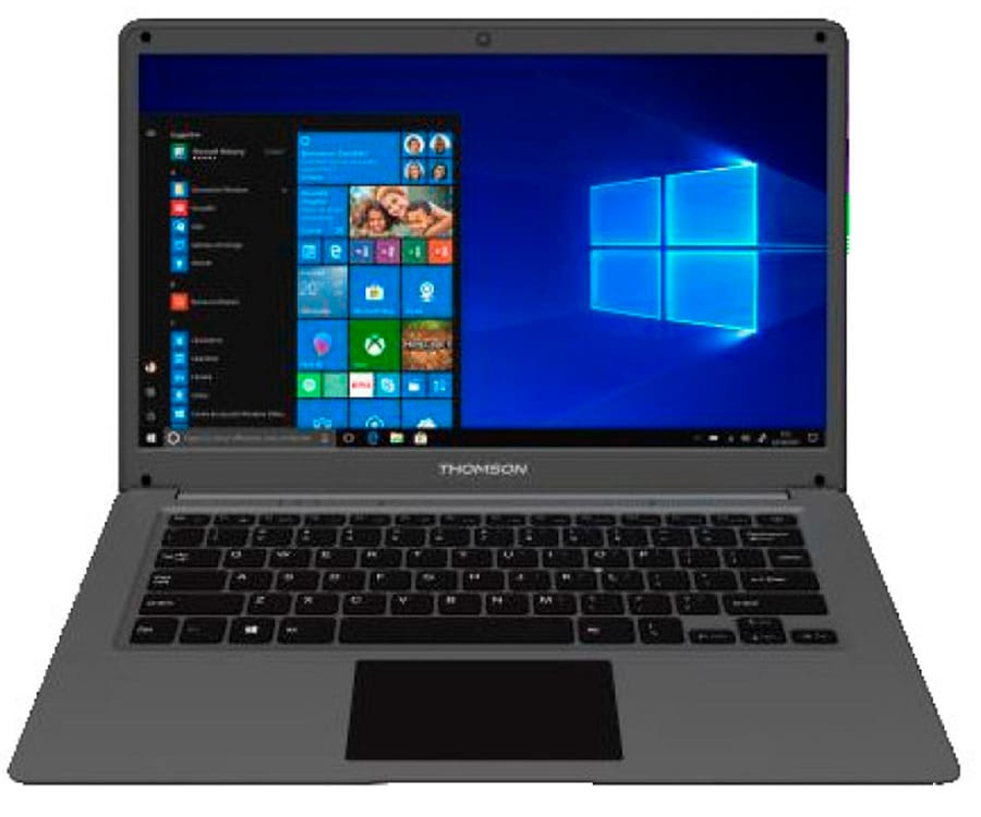 THOMSON NEO14C NEGRO PORTÁTIL 14'' LCD LED HD CELERON-N3350 1.1GHz eMMC 64GB + HDD 500GB 4GB RAM WINDOWS 10 S
