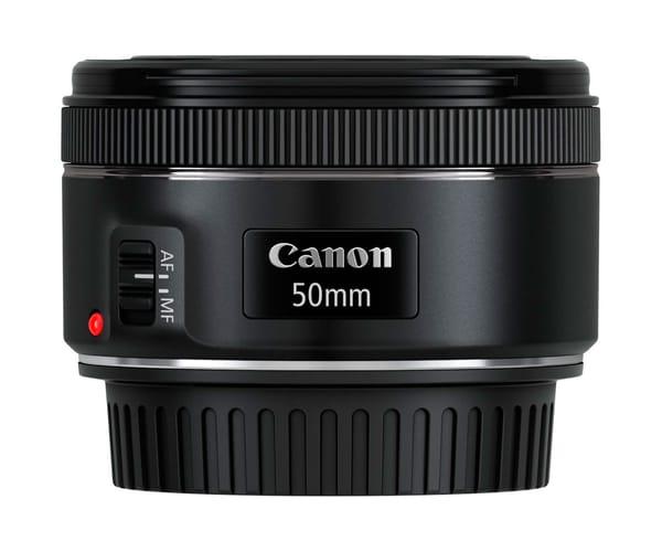 CANON EF 50mm f/1.8 STM OBJETIVO PARA RETRATOS Y FOTOS CON POCA LUZ
