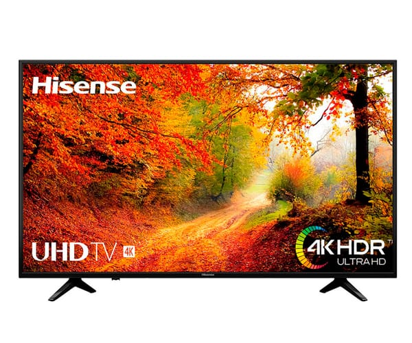 HISENSE H65A6140 TELEVISOR 65'' LCD DIRECT LED UHD 4K HDR SMART TV WIFI LAN HDMI USB REPRODUCTOR MULTIMEDIA