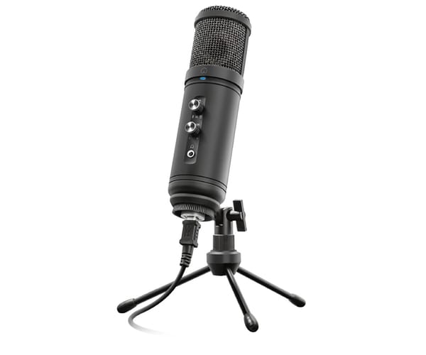 TRUST SIGNA HD STUDIO MICROPHONE MICRÓFONO DE ESTUDIO USB CON CALIDAD AUDIO HD STREAMING Y GRABACIÓN