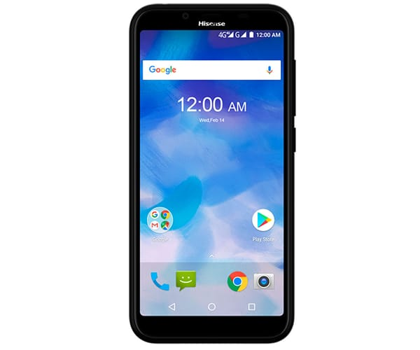 HISENSE F17 PRO NEGRO MÓVIL 4G DUAL SIM 5.45'' IPS HD+/4CORE/16GB/2GB RAM/13MP/5MP