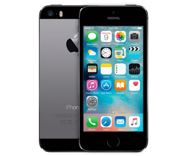 APPLE IPHONE 5S 16GB GRIS ESPACIAL REACONDICIONADO CPO MÓVIL 4G 4'' RETINA IPS/2CORE/16GB/1GB RAM/8MP/1.2MP