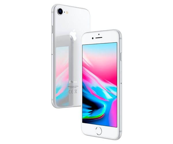 APPLE IPHONE 8 64GB PLATA REACONDICIONADO CPO MÓVIL 4G 4.7'' RETINA HD/6CORE/64GB/2GB RAM/12MP/7MP