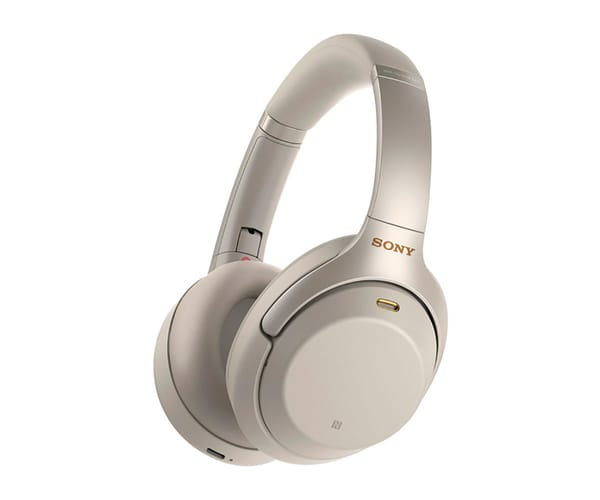 SONY WH-1000XM3S PLATA AURICULARES CON NOISE CANCELLING INALÁMBRICOS BLUETOOTH NFC ALTA CALIDAD