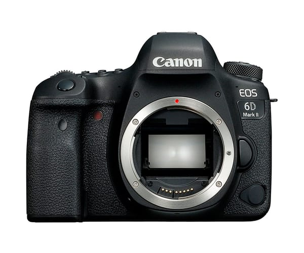 CANON EOS 6D MARK II CÁMARA DIGITAL RÉFLEX SENSOR CMOS 26.2MP GPS INCORPORADO WIFI NFC BLUETOOTH