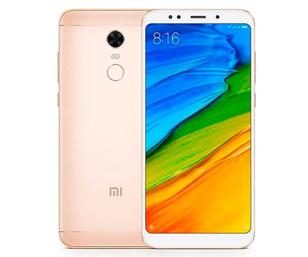 XIAOMI REDMI 5 PLUS DORADO MÓVIL 4G DUAL SIM 5.99'' IPS FHD+/8CORE/64GB/4GB RAM/12MP/5MP