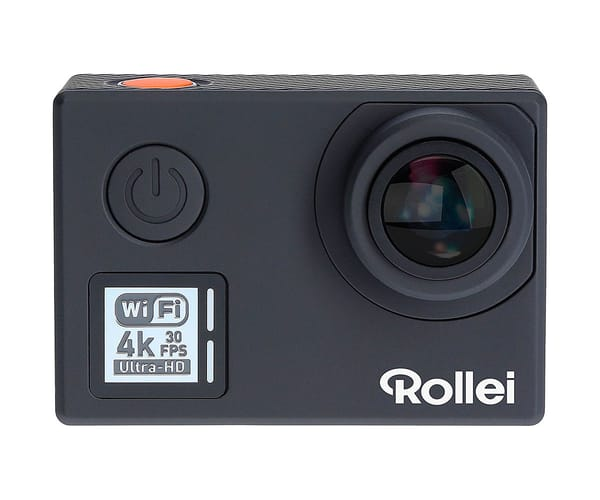 ROLLEI ACTIONCAM 530 NEGRO CÁMARA DE ACCIÓN VÍDEOS EN UHD 4K 30FPS 14MP WIFI INTEGRADO GRAN ANGULAR 170º