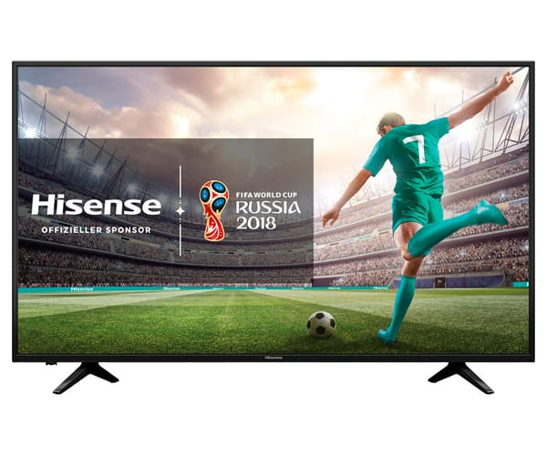 HISENSE H43A6100 TELEVISOR 43'' LCD DIRECT LED UHD 4K HDR 1500Hz SMART TV WIFI