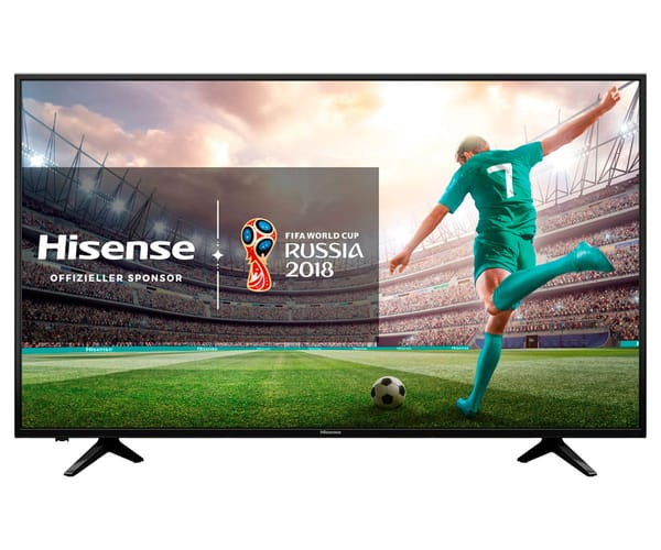 HISENSE H55A6100 TELEVISOR 55'' LCD DIRECT LED UHD 4K HDR 1500Hz SMART TV WIFI