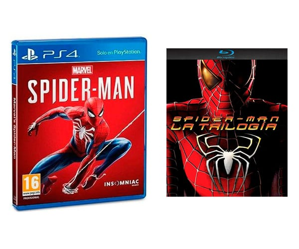 SONY MARVEL'S SPIDER-MAN VIDEOJUEGO PARA PS4 + PACK PELÍCULA TRIOLOGÍA SPIDER-MAN EN BLU-RAY DISC