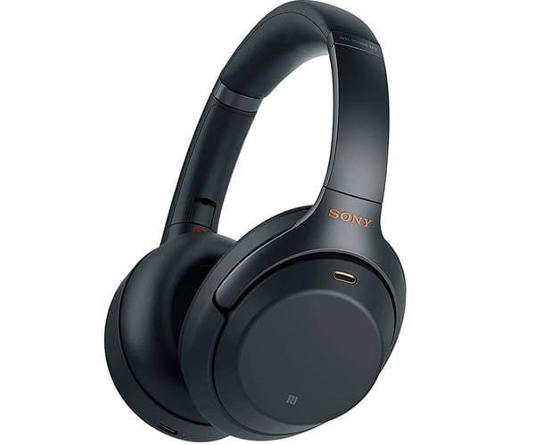 SONY WH-1000XM3B NEGRO AURICULARES CON NOISE CANCELLING INALÁMBRICOS BLUETOOTH NFC ALTA CALIDAD