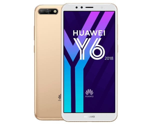 HUAWEI Y6 (2018) DORADO MÓVIL 4G DUAL SIM 5.7'' IPS HD+/4CORE/16GB/2GB RAM/13MP/5MP
