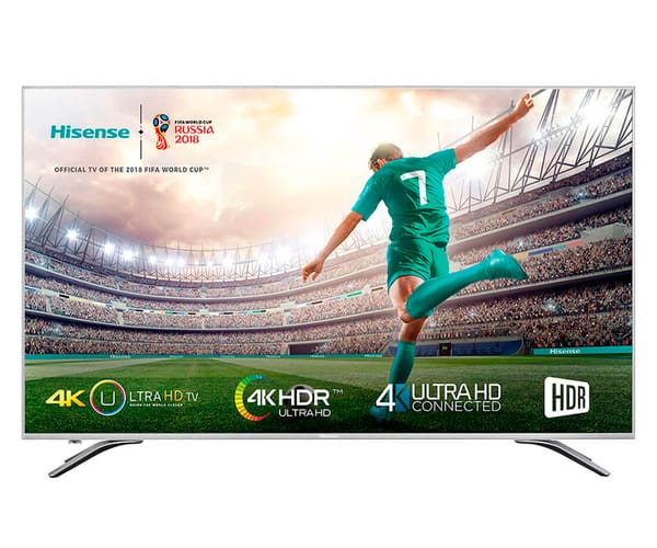 HISENSE H55A6500 TELEVISOR 55'' LCD DIRECT LED UHD 4K HDR 1800Hz SMART TV WIFI