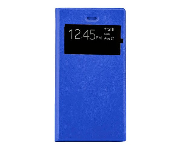 JC FUNDA TIPO LIBRO CANDY AZUL SAMSUNG GALAXY J4 PLUS