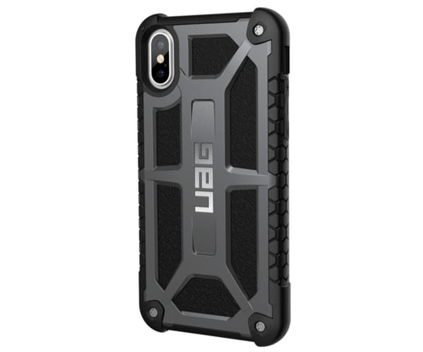 URBAN ARMOR GEAR MONARCH GRAPHITE CARCASA IPHONE XS RESISTENTE
